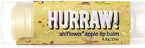 Hurraw Ahiflower Apple Lip Balm