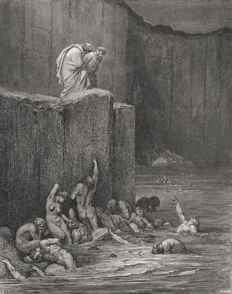 Amazon Com Posterazzi Inferno By Dante Alighieri Canto