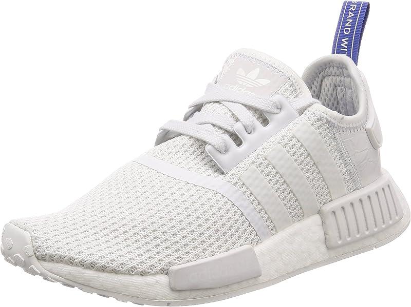 adidas NMD R1 Sneakers Laufschuhe Damen Weiß