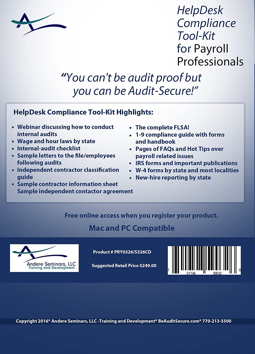 Amazon 2016 helpdesk compliance tool kit for payroll amazon 2016 helpdesk compliance tool kit for payroll professionals includes internal audit checklists i 9 compliance instructions wage and hour help falaconquin
