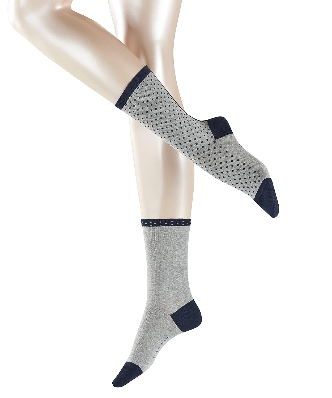 ESPRIT Dots /& Stripe Socks 2p Calze Donna