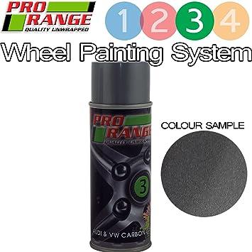 Pro Wheel Volkswagen/Audi Carbon Grey 400ml Quick Drying Aerosol