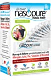 """Dr. Hana's Nasopure the """"Nicer Neti Pot""""   Refill Kit   40 Buffered Salt Packets   Allergy and Congestion Relief Nasal Wash"""