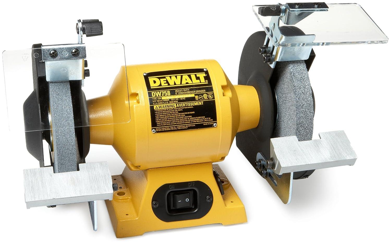 Terrific Dewalt Dw758R 8 Inch Bench Grinder Renewed Spiritservingveterans Wood Chair Design Ideas Spiritservingveteransorg