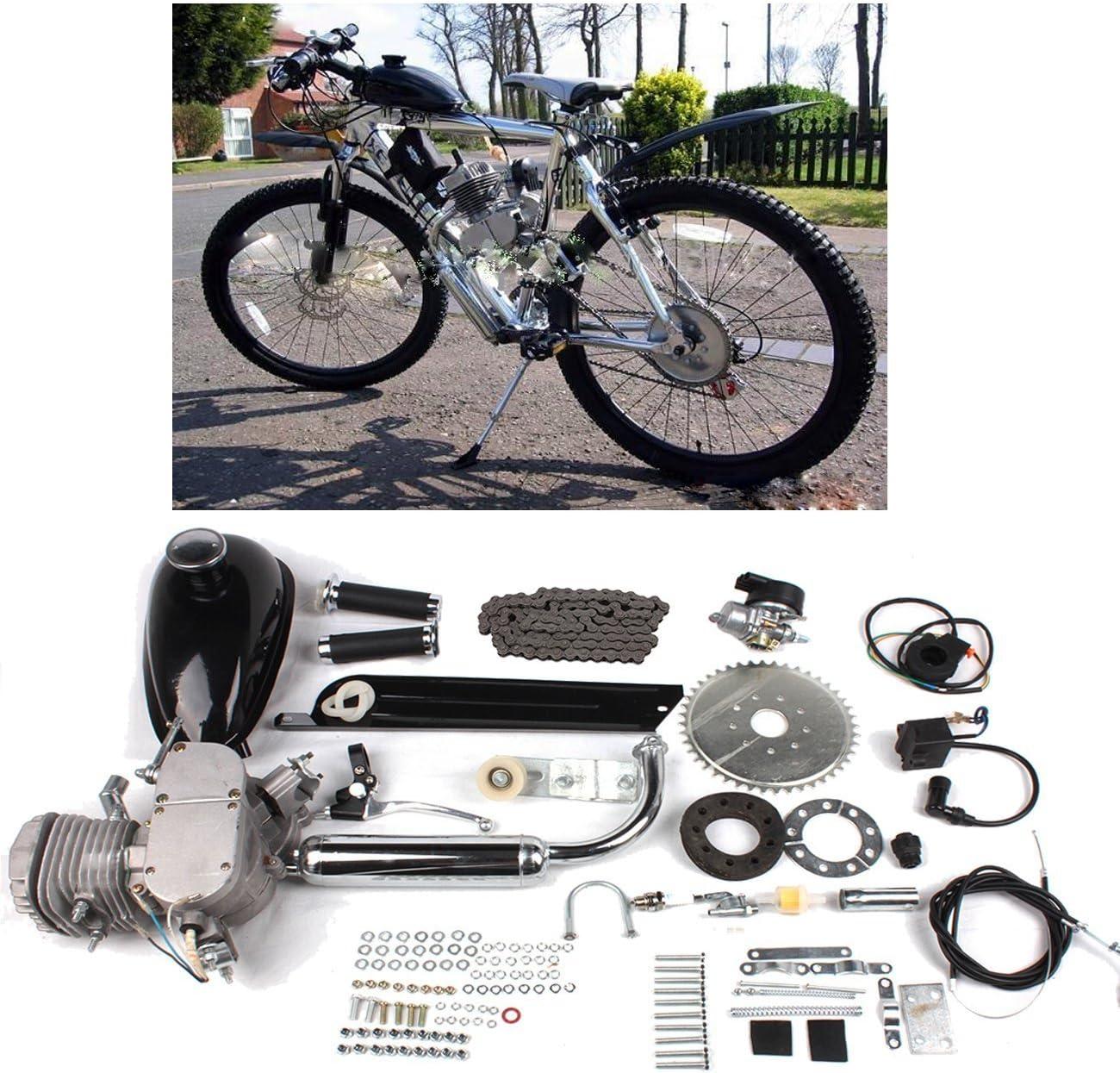 SHUOGOU 80cc 2 Tiempos Ciclo de Pedales Gasolina Motor de gas ...