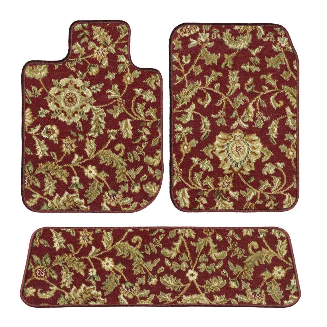 1997 2000 Dodge Grand Caravan Red Oriental Driver 1998 1999 GGBAILEY D4563A-S2B-RD-IS Custom Fit Automotive Carpet Floor Mats for 1996 Passenger /& Rear