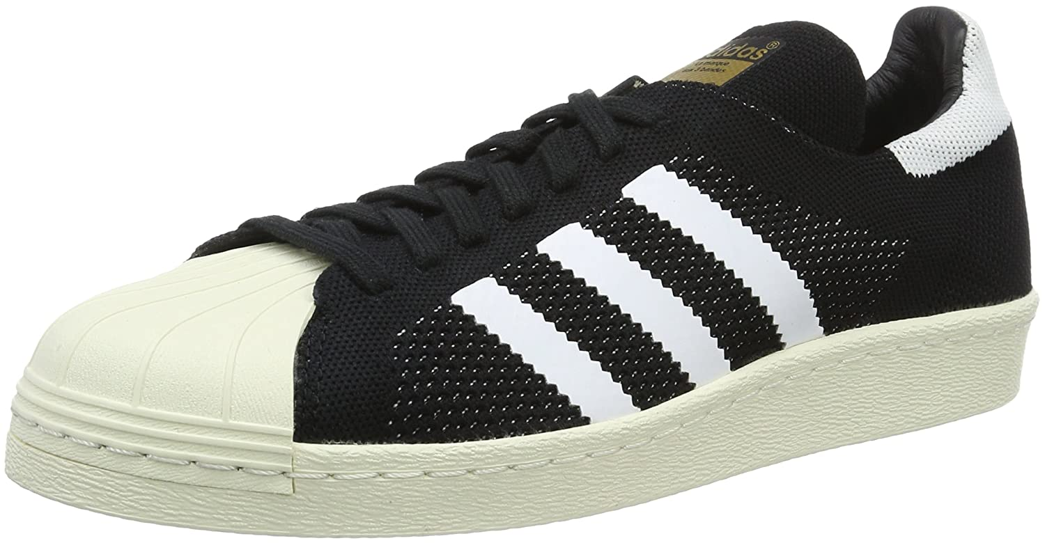 huge discount 1d31e 89a86 Amazon.com   adidas Men Sneakers Superstar 80s Primeknit black-white  S82780, size Herren schuhe 46   Shoes