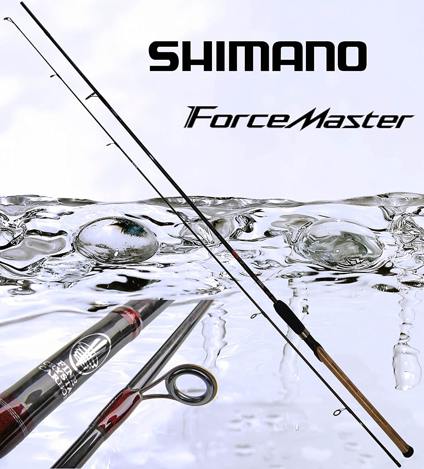 Shimano Force Master Spinning 270 ml 2 tlg. 5-20g 2.70 M caña de ...