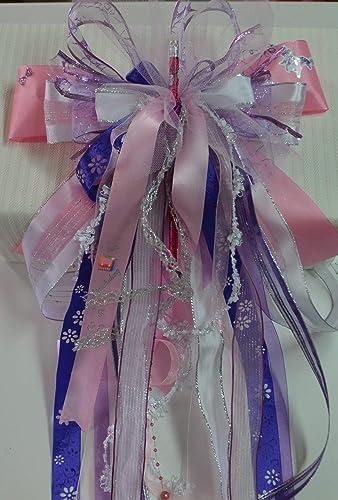 Schleife für Schultüte Zuckertüte auch mit Name nach Ihren Wünschen