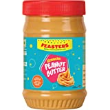 Feasters Peanut Butter Crunchy Bottle, 510g