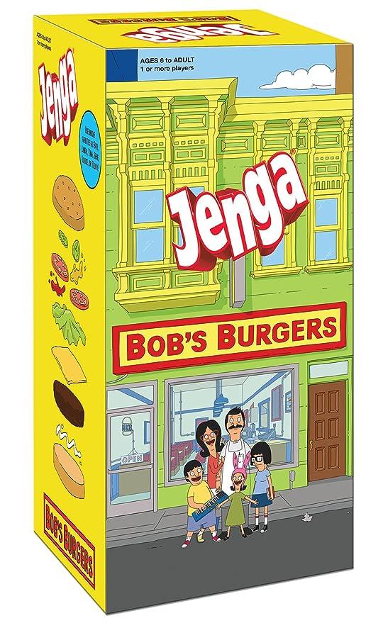 Amazoncom Usaopoly Bobs Burgers Edition Jenga Gamemove Your