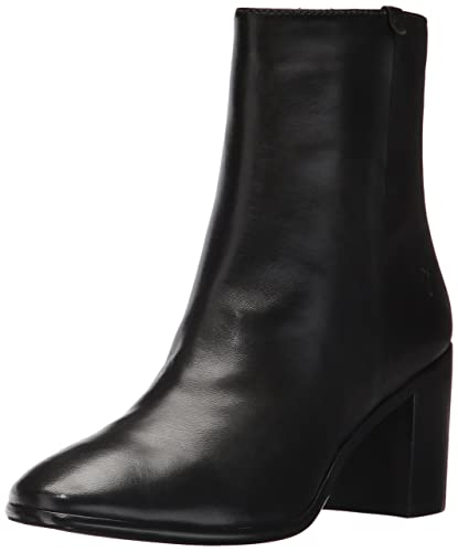 FRYE Women's Julia Bootie Boot, Black Soft Nappa Lamb, ...