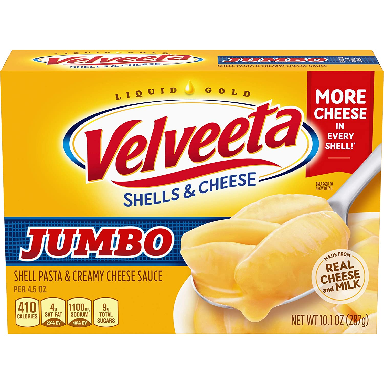 Velveeta Original Jumbo Shells and Cheese Meal (10.1 oz Box)