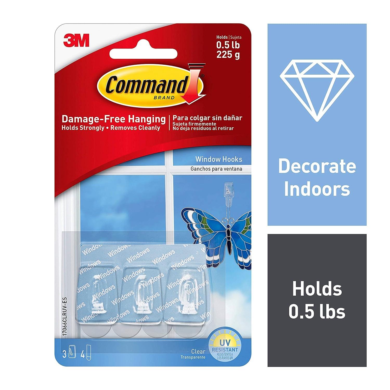 Command Window Hooks, Indoor Use (17066CLRUV-ES)