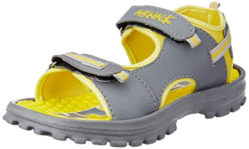 0dd8d4834 Image Unavailable. Image not available for. Colour  Airwalk Boy s Eva Sandal  Yellow Synthetic Sandals and Floaters ...