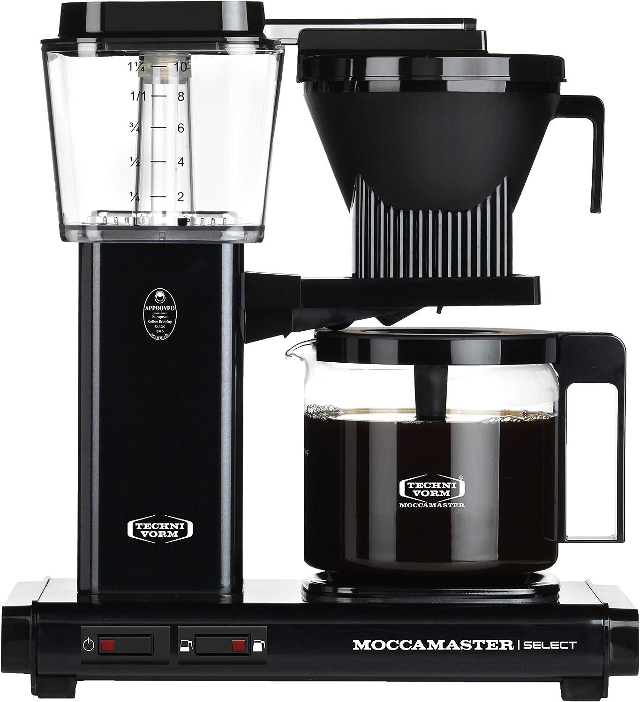Moccamaster - Filtro para cafetera negro: Amazon.es: Hogar