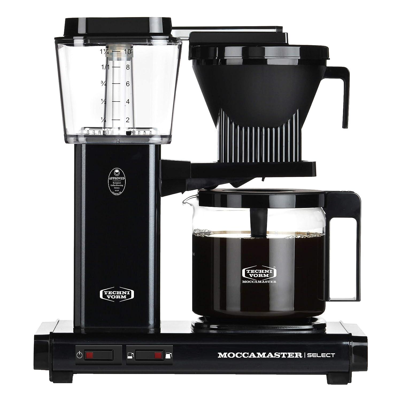 Moccamaster 53987 KBG Select - Cafetera de filtro (aluminio, 1,25 ...