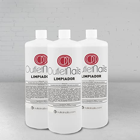 3 x Cleaner 100ml para gel Aroma Cereza - Eliminar la capa pegajosa de geles UV