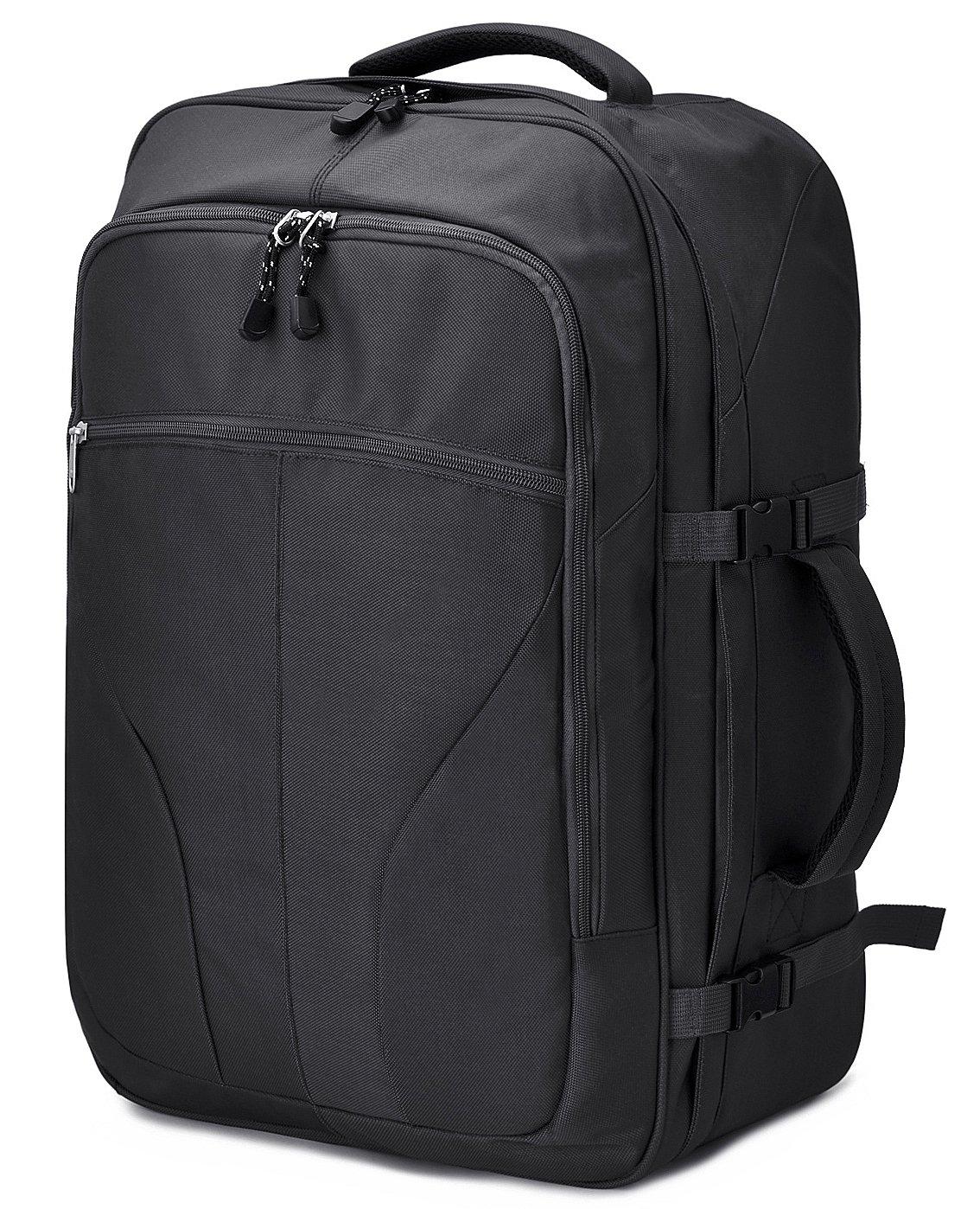 Travel Backpack, GRM Carry on Backpack Weekender Duffel Bag for Men Women, 54 L