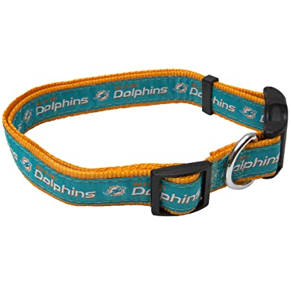 69649df96e0 Amazon.com   Pets First NFL Miami Dolphins Pet Collar