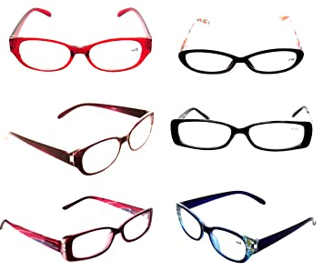 457636fa182b Clearance Fashionable Women s Styles Plastic EYEGLASSES Ladies Optical  READING GLASSES Lot of 3 Pack +3.50