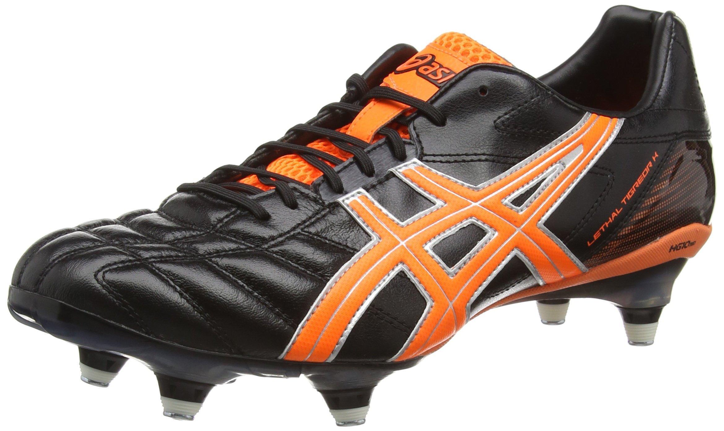 ASICS LETHAL TIGREOR 7 K ST Rugby Boots - 9.5 - Black