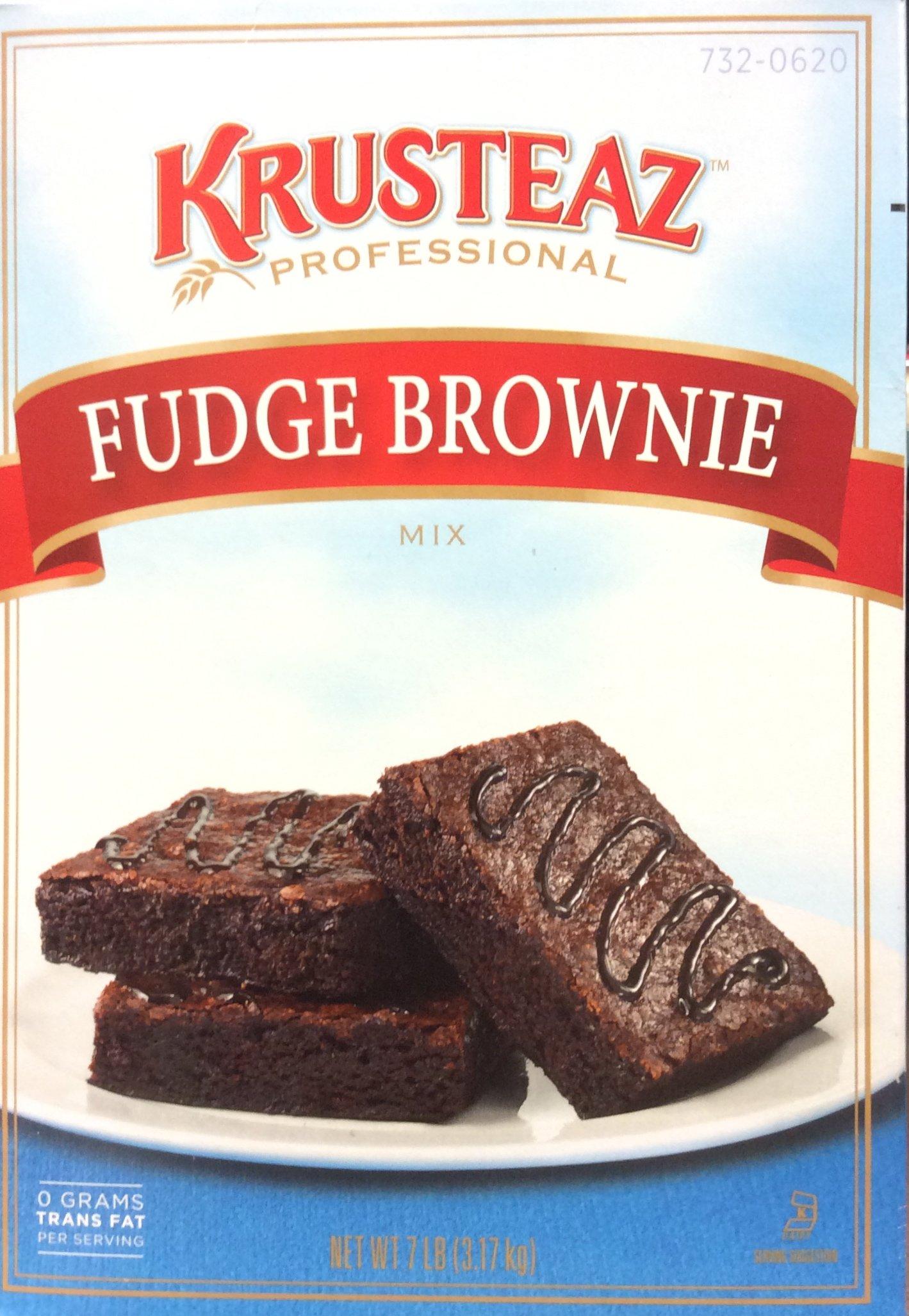 Krusteaz FUDGE BROWNIE Mix 7lb. (4 Pack) by Krusteaz (Image #1)