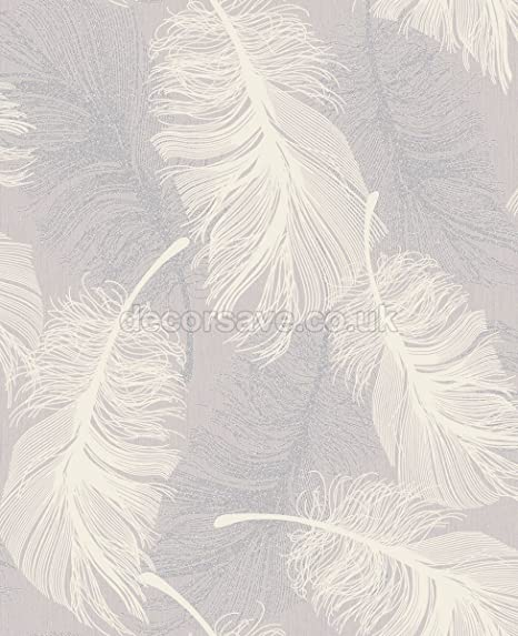 Coloroll Feather Wallpaper M1072