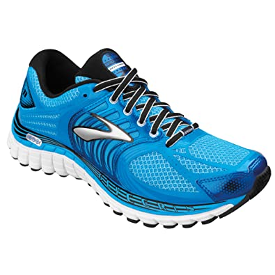 c89e4e49b84 Brooks Women s Glycerin  11 Aquarius Dresden Blue Black Sivler Shocking  Orange
