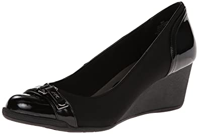 cdbb18e9c2 Amazon.com | Anne Klein Sport Women's Tamarow Fabric Wedge Pump | Pumps
