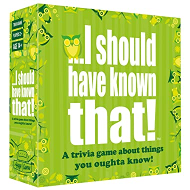Hygge Games ...I Should Have Known That! Trivia Game