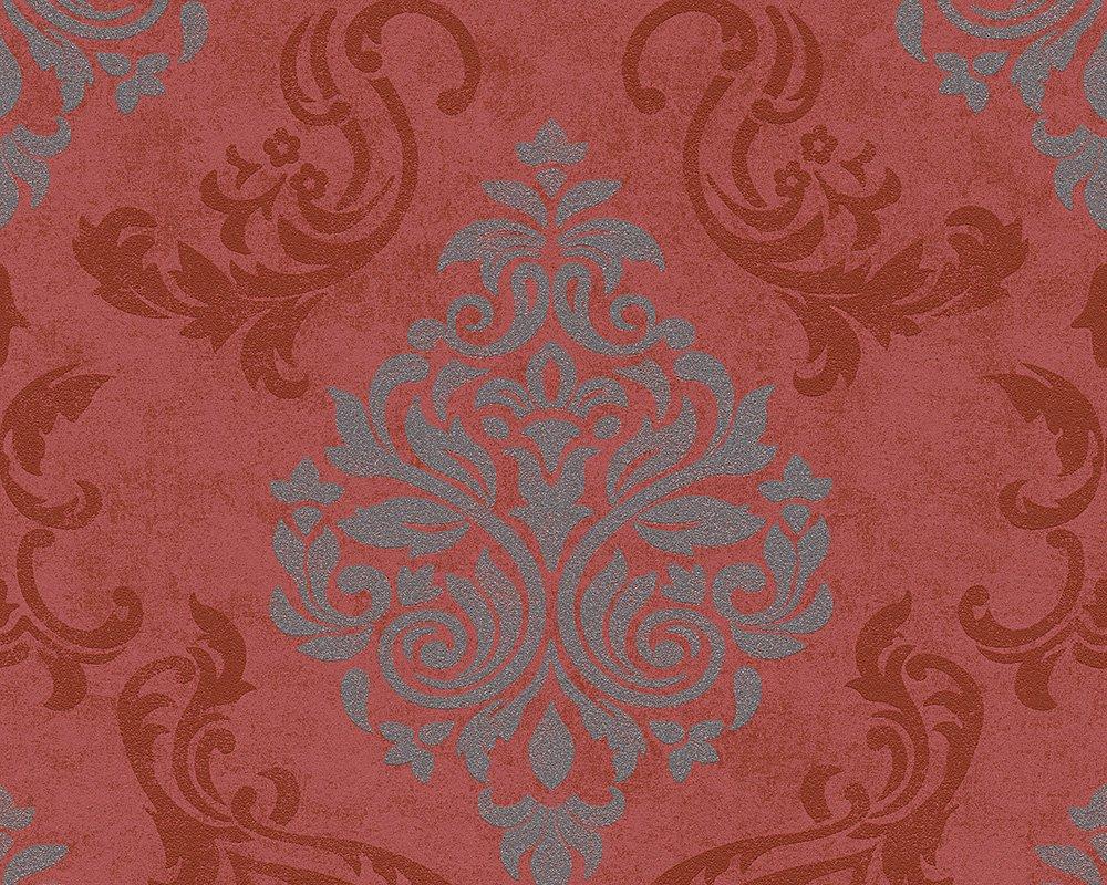 L/änge Creme Wei/ß Metallic A.S.Cr/éation Memory papier peint in-tiss/é n/éo baroque glamour classique 10,05 m x 0,53 m 10,05 m x 0,53 m Breite