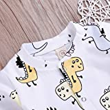 YOUNGER TREE Newborn Infant Baby Boy Girl Pajamas
