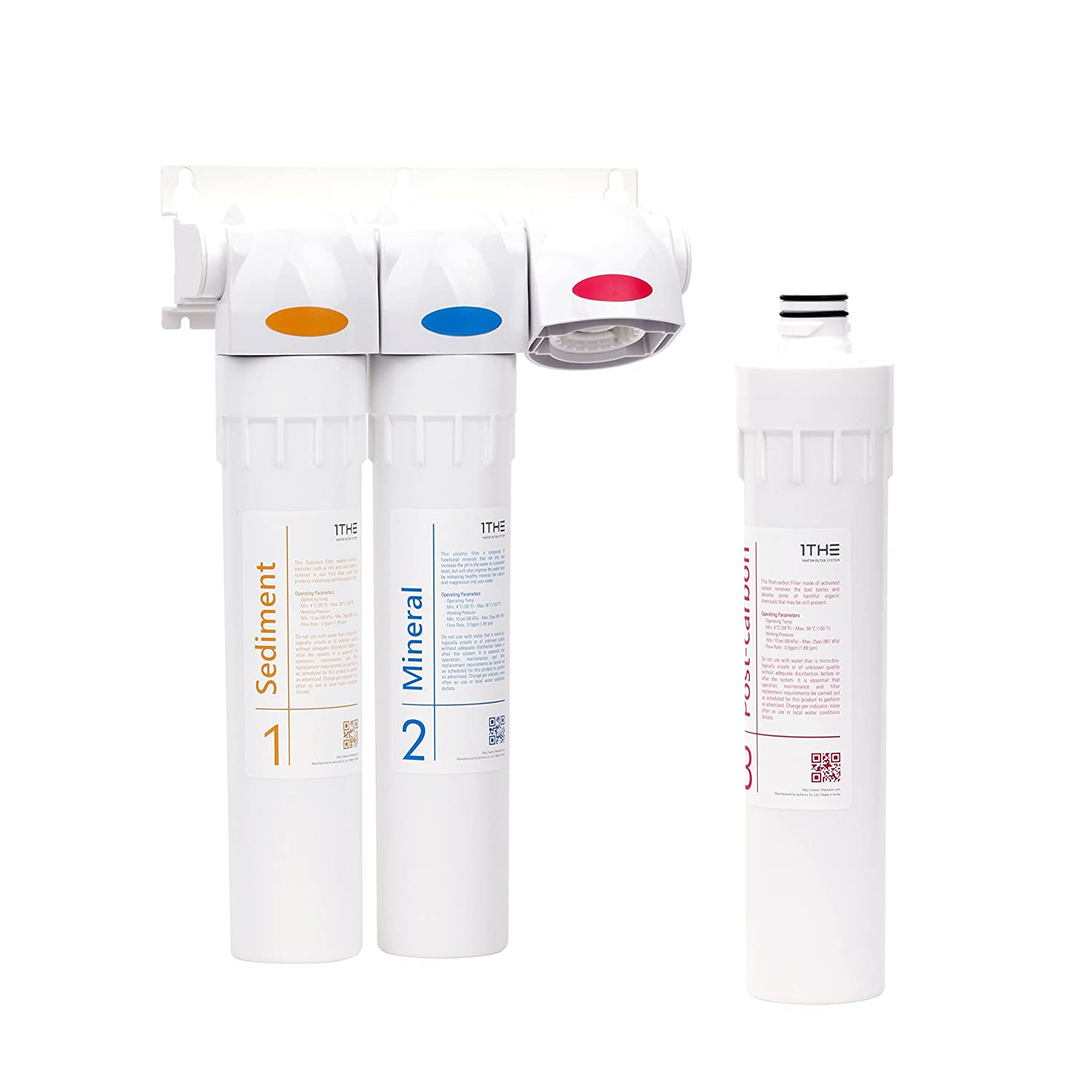 1THE Water Filter System Mineral Pro Set IONFARMS