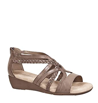 6dbd9b30b Amazon.com: AVENUE Women's Felicity Braided Gladiator Sandal: Clothing