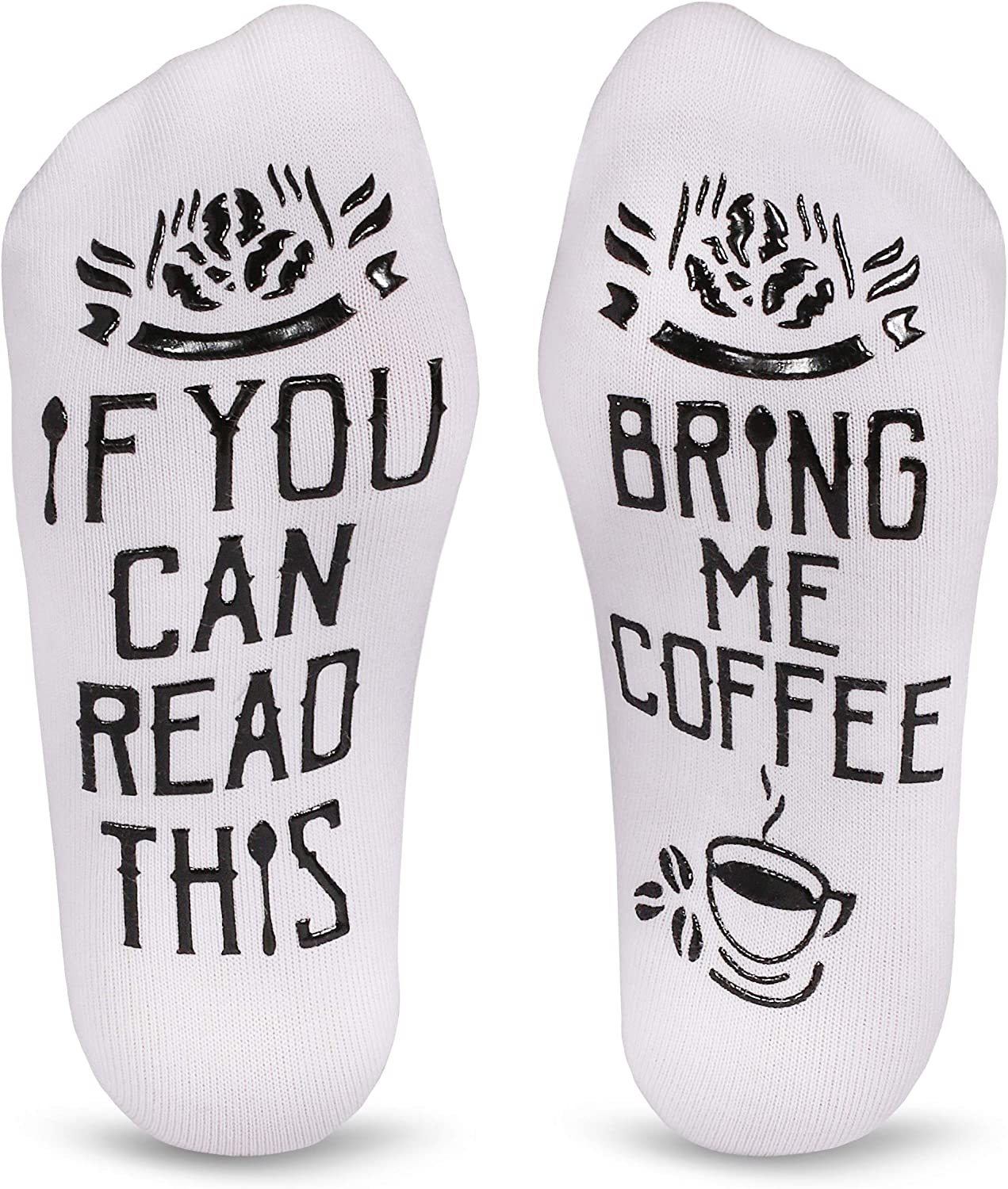 Cavertin Women's Novelty Coffee Lover Socks with Gift Box