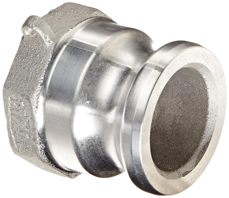 Dixon Valve /& Coupling 250-A-AL Aluminum 356T6 Boss-Lock Type A Cam and Groove Hose Fitting 2-1//2 Plug x 2-1//2 NPT Female