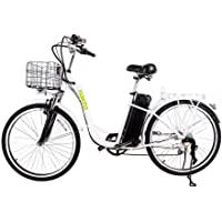 """Spark 26"""" 250W Cargo Electric Bicycle 6-Gear Speed Sporting Ebike 36V10A Lithium Battery -Class AAA"""