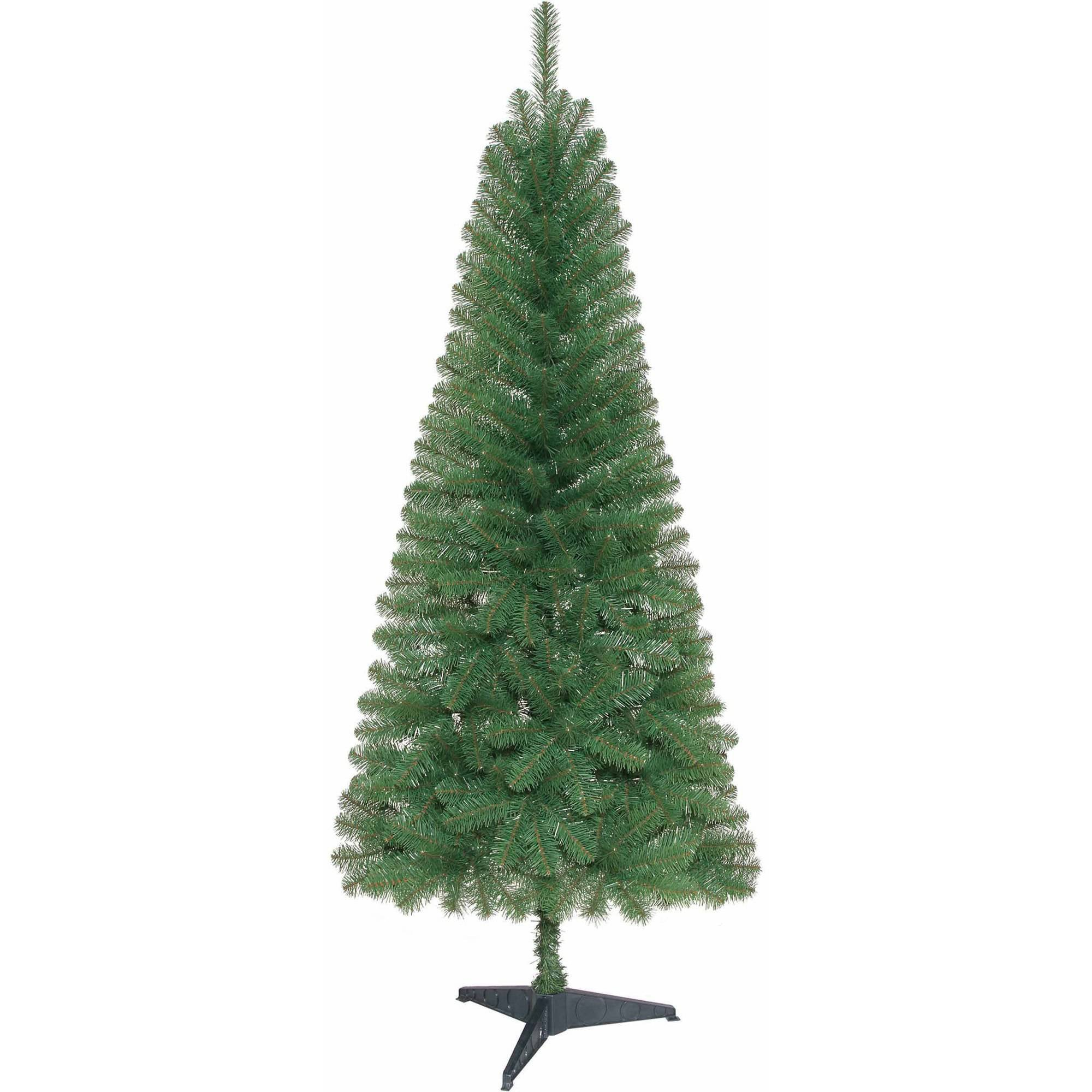 Holiday Christmas Time Unlit 6' ft. Wesley Pine Artificial Christmas Tree