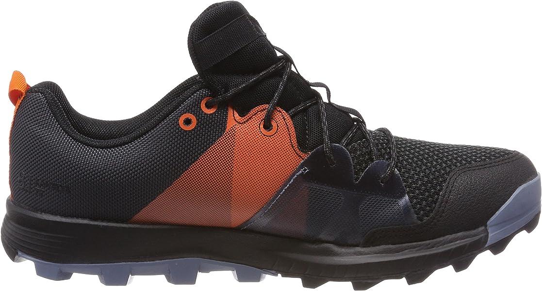 quality design 3fec7 93fb6 adidas Menss Kanadia 8.1 TR Trail Running Shoes Multicolour (CarbonCore  BlackOrange. Back. Double-tap to zoom