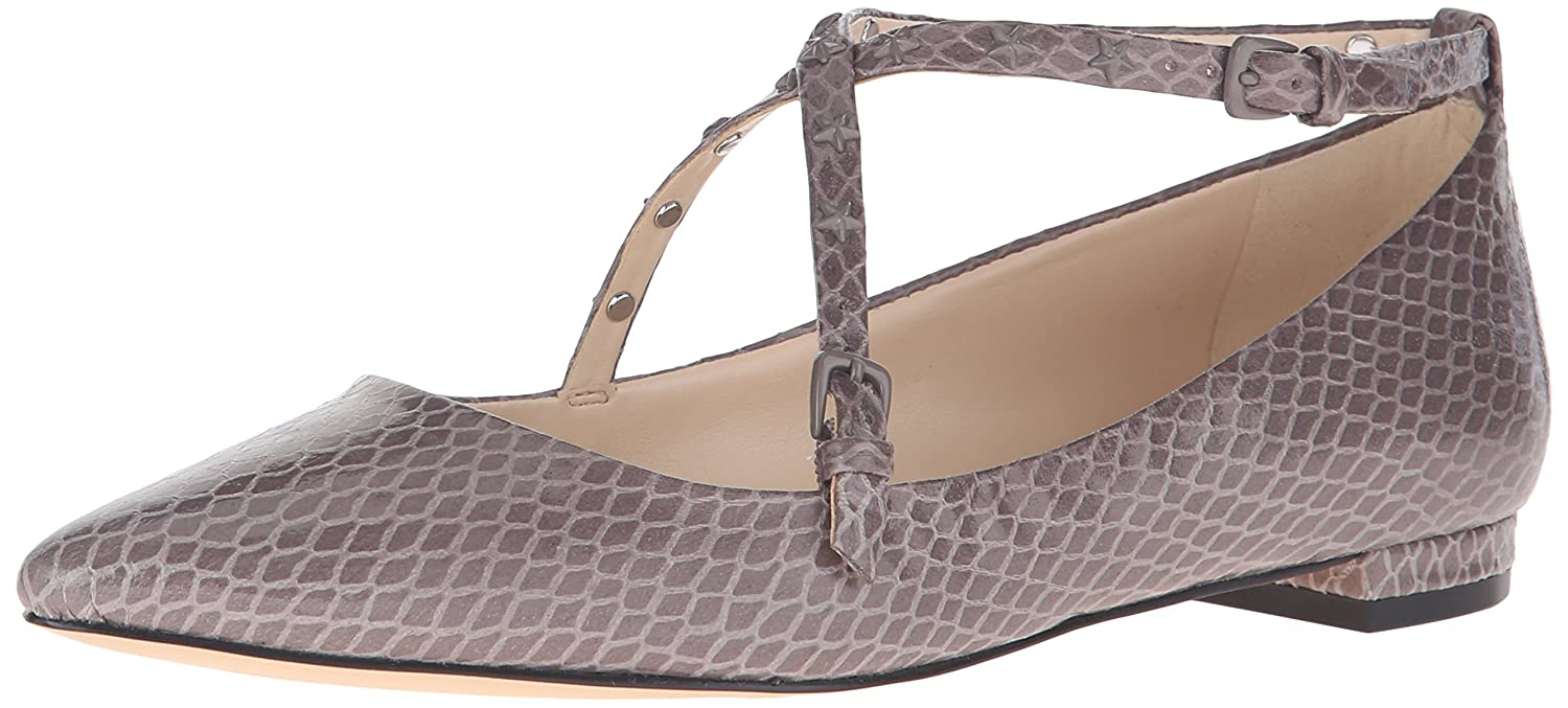 Nine West Women's Aquino Synthetic Pointed Toe Flat B01ERQLWGS 8.5 B(M) US|Grey