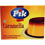 Pik Creme Caramel Pudding Mix, 70g - Pack of 4