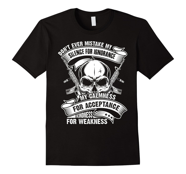 2nd Amendment Skull and Guns T Shirt-TH
