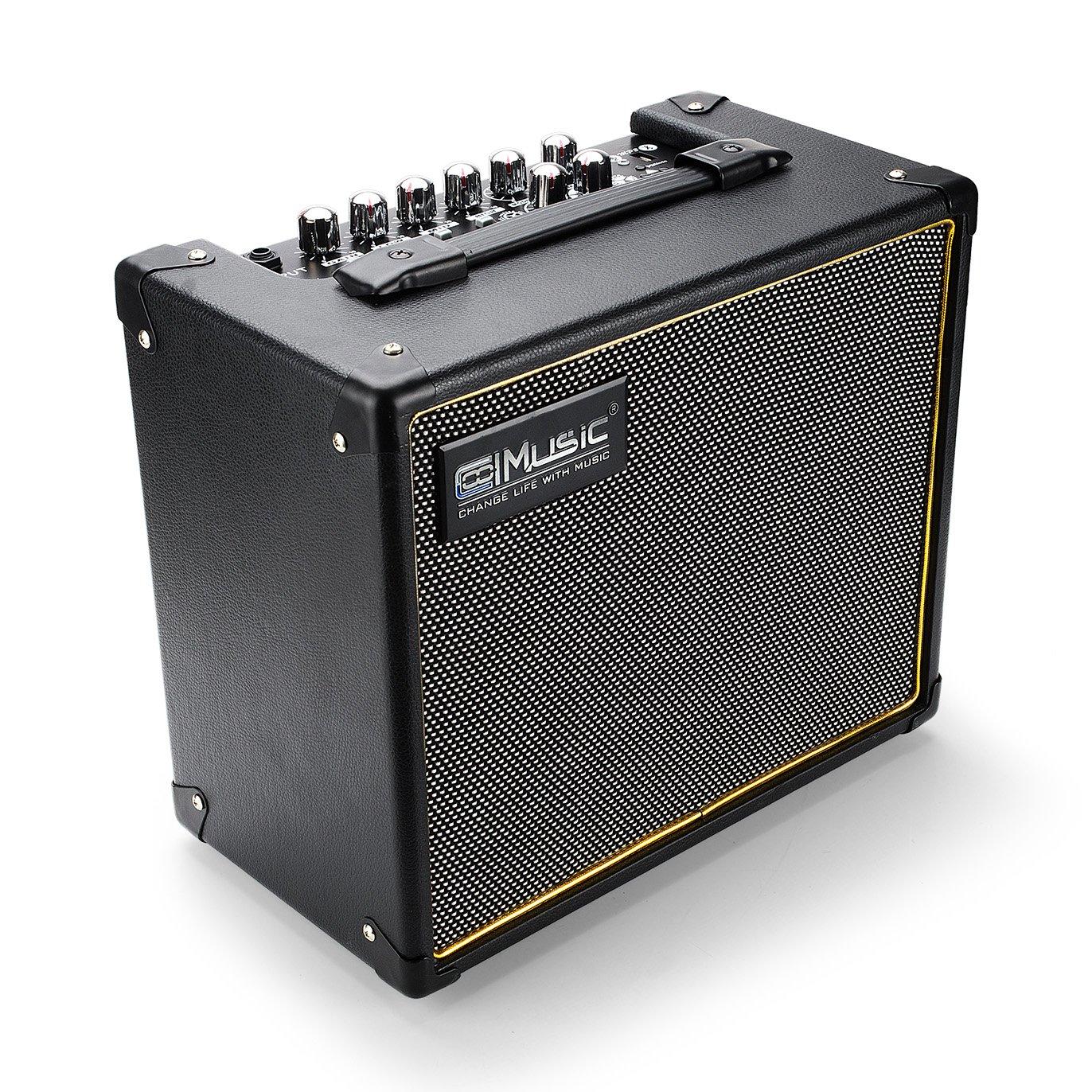 Coolmusic Bluetooth Fantasy20 20W Smart Digital Guitar Amplifier DSP ( Reverb, Delay, Phaser, Flanger, Chorus, Tremolo ) Speaker