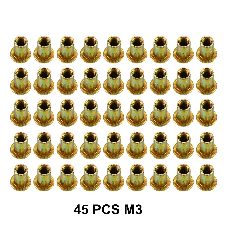 400 St M6 Einnietmuttern Für Nietmutternzange M4 M5 Gewinde Nietmutter M3