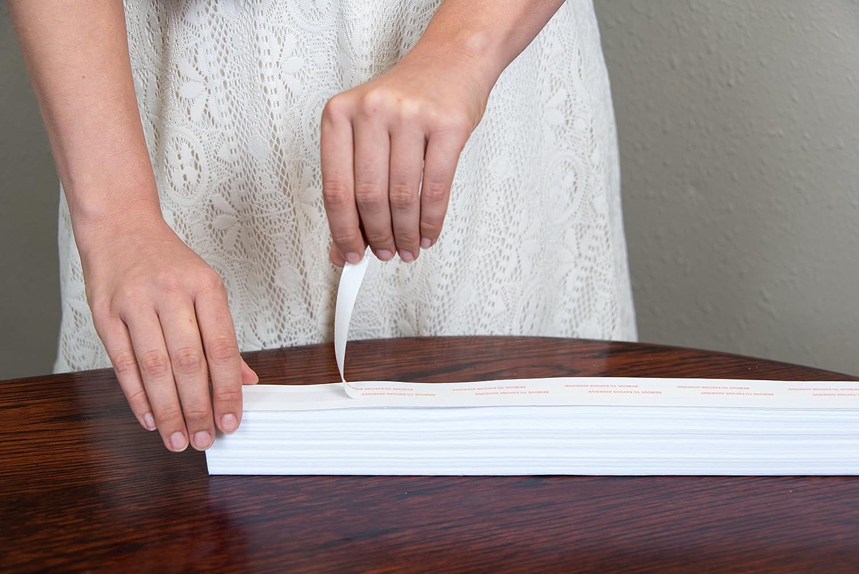 Original Arch lumi/ère filtrage Abat-jour papier pliss/é Blanc 182,9/x 91,4/cm