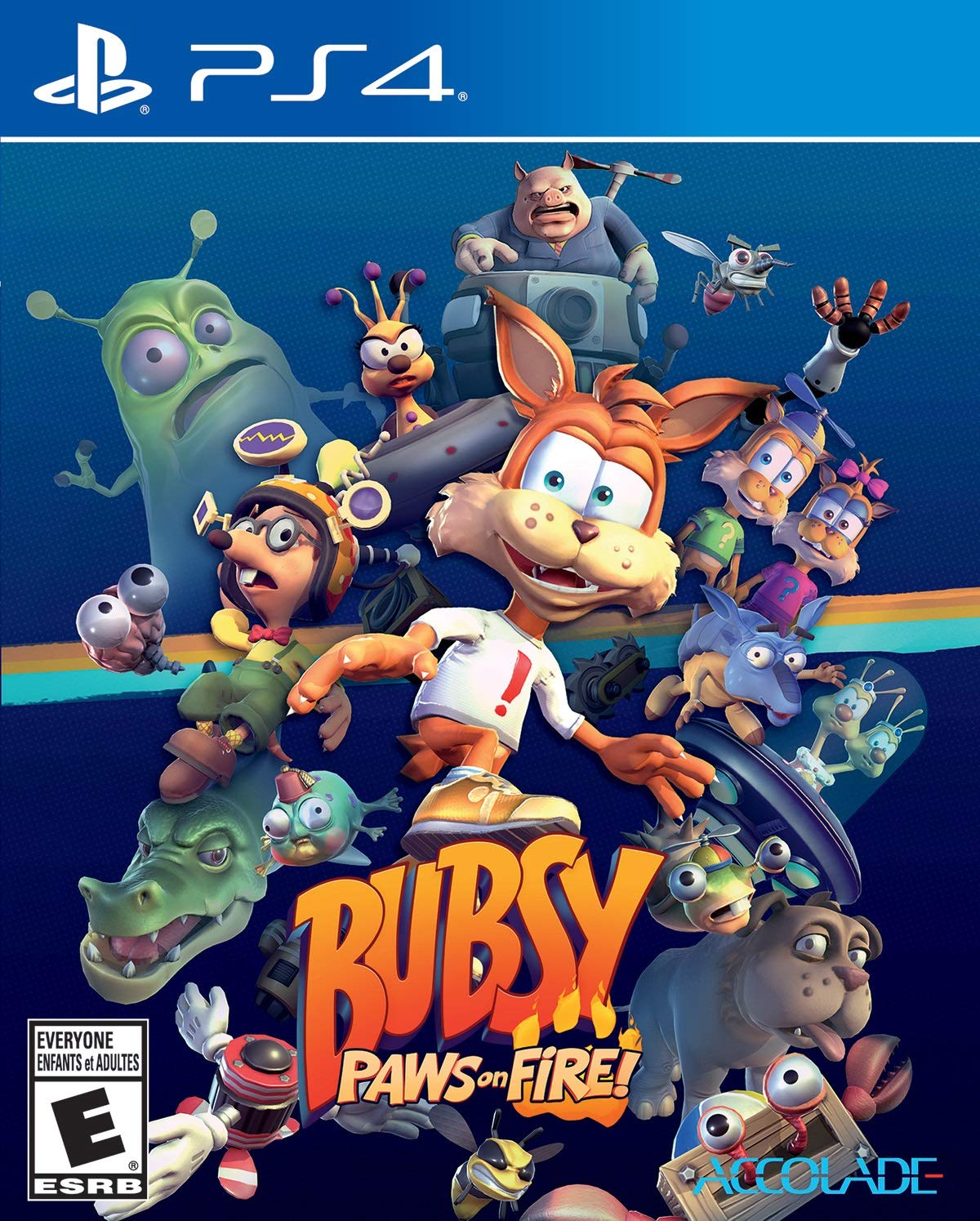 Bubsy : Paws on Fire! - PlayStation 4 Standard Edition