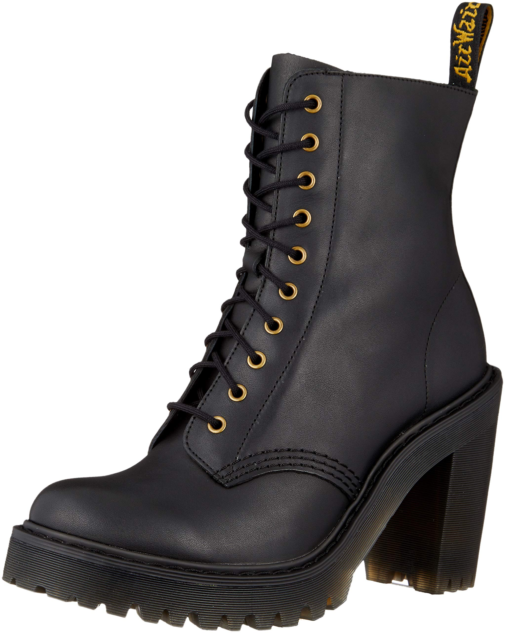 Dr. Martens Women's Kendra Fashion Boot, Black, 5 M UK (7 US) by Dr. Martens