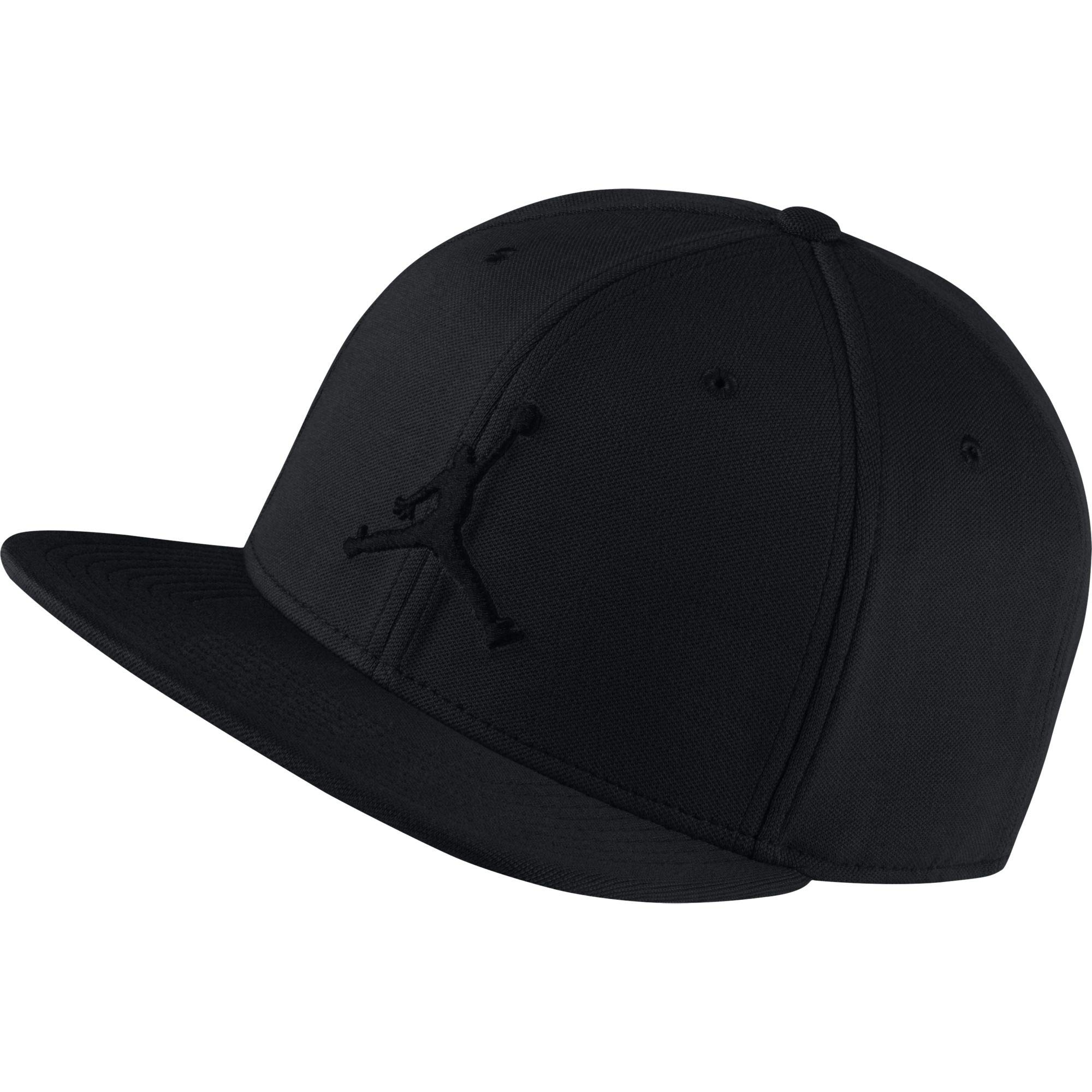 c6ceeaea372 Galleon - Nike Mens Jordan Jumpman Snapback Hat Black Black 861452-010