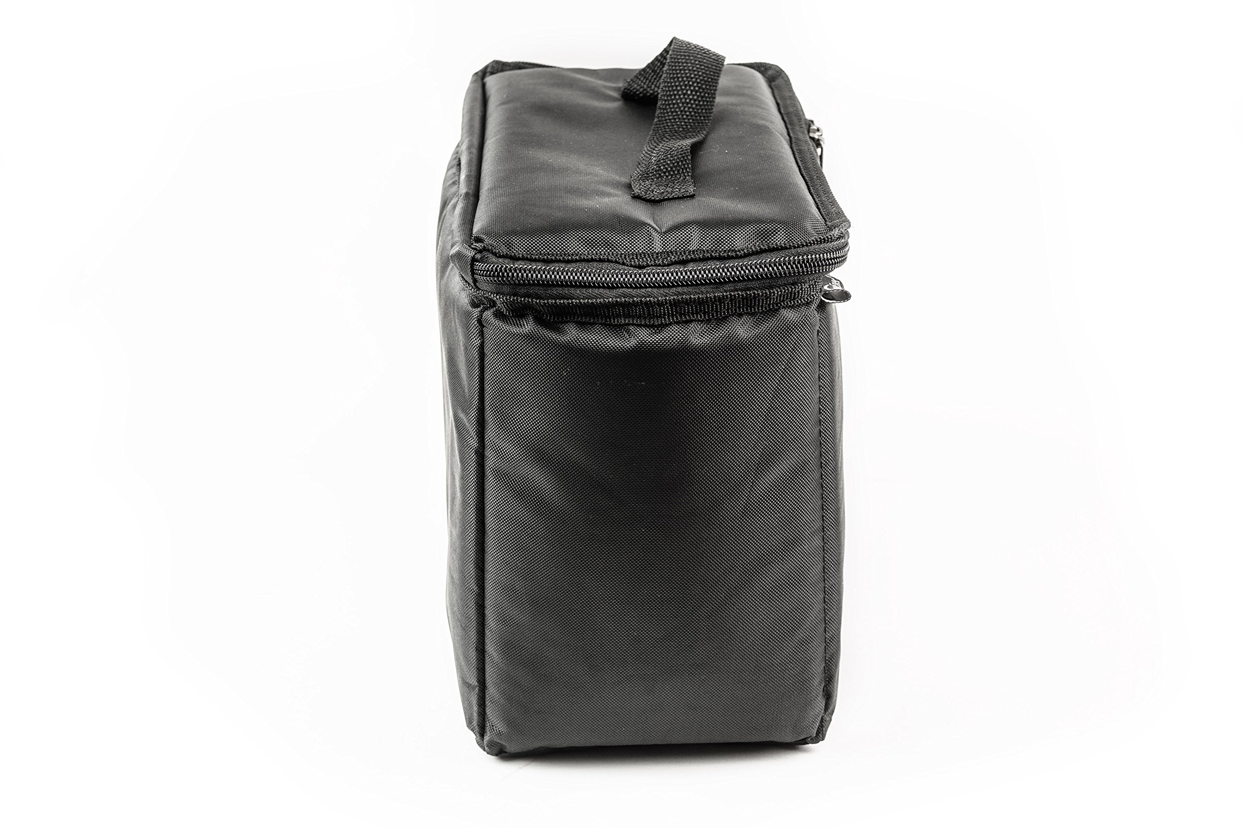 AutoExec AETote-08 Black/Grey File Tote with One Cooler and One Hanging File Holder by AutoExec (Image #9)
